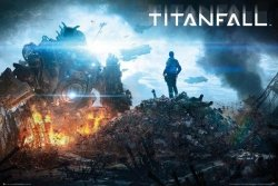 Titanfall Imc Pilot - plakat