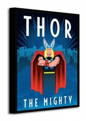Marvel Deco (Thor) - Obraz na płótnie