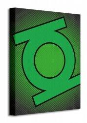 Dc Comics (Green Lantern Symbol) - Obraz na płótnie