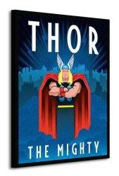 Obraz na płótnie - Marvel Deco (Thor)