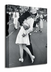 Time Life (War Time Kiss) - Obraz na płótnie