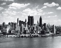 Fototapeta - Nowy Jork - Wieżowce Panorama - 315x232 cm
