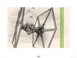 Star Wars The Force Awakens TIE Fighter - reprodukcja