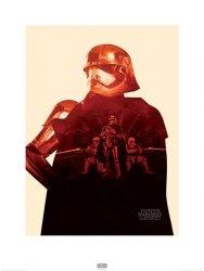 Star Wars The Force Awakens Kapitan Phasma - reprodukcja