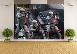 Fototapeta ścienna - Gwiezdne Wojny: Przebudzenie Mocy - 416x254cm