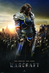 Warcraft (Lothar) - Two Worlds, One Home - plakat