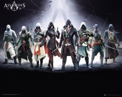 Plakat - Assassins Creed Characters