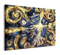 Doctor Who (Exploding TARDIS) - Obraz na płótnie