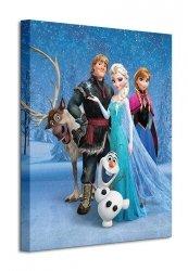 Frozen (Group) - Obraz na płótnie