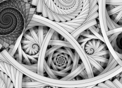 Abstrakcja architektoniczna - fototapeta - 320x230 cm