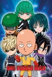 One Punch Man Chibi - plakat