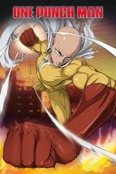 One Punch Man Saitama - plakat