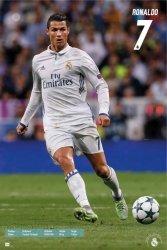 Real Madryt Cristiano Ronaldo CR7 - plakat
