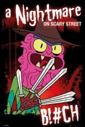 Rick and Morty Scary Terry - plakat z serialu