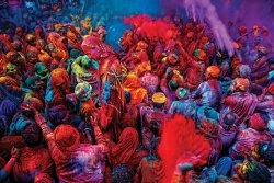 Festiwal Kolorów - plakat