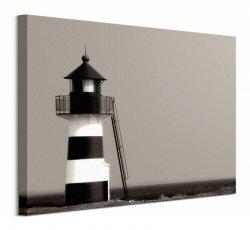 The Lighthouse, Oddesund, Jylland, Denmark - obraz na płótnie