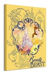 Beauty And The Beast (Frame) - obraz na płótnie