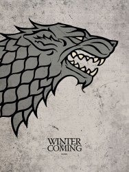Game of Thrones Stark - reprodukcja