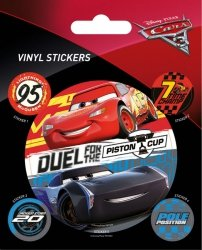 Auta 3 Duel For The Piston Cup - naklejka