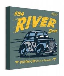 Cars 3 River Scott - obraz na płótnie