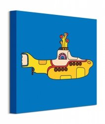 The Beatles Yellow Submarine Bold - obraz na płótnie
