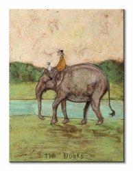 Obraz ścienny - Two Riders - 60x80 cm