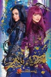 Następcy (Evie & Mal) - plakat