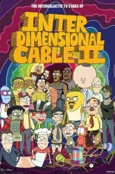 Plakat - Rick and Morty (Stars of Interdimensional Cable)