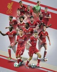Liverpool Zawodnicy 17/18 - plakat
