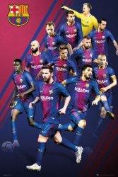Barcelona Zawodnicy 17/18 - plakat