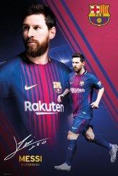 Barcelona Leo Messi 17/18 - plakat