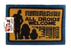 Star Wars All Droids Welcome - wycieraczka