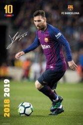 Barcelona FC Messi 18/19 - plakat
