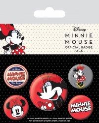 Myszka Minnie - przypinki