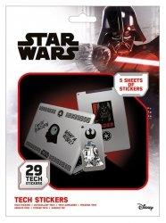 Star Wars Force - naklejki na laptopa