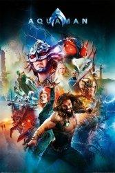 Plakat na ścinę - Aquaman Battle For Atlantis