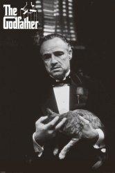 Ojciec chrzestny (Cat B&W) - plakat