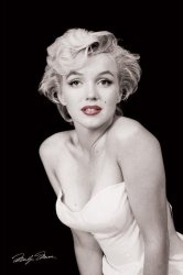 Marilyn Monroe (Red Lips) - plakat