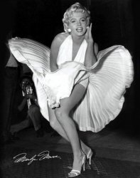 Marilyn Monroe (Seven Year Itch) - plakat