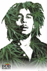 Bob Marley (Leaves) - plakat