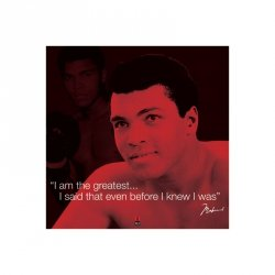 Muhammad Ali (Życiowe cytaty) - reprodukcja