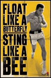 Muhammad Ali (Float Like A Butterfly) - plakat