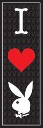 I Love Playboy - plakat