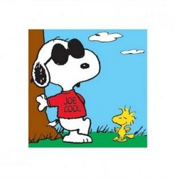 Snoopy (Joe Cool) - reprodukcja