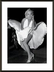 Marilyn Monroe seven year itch - obraz w ramie