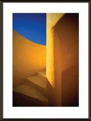 Obraz w ramie - Złote schody