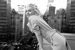 Marilyn Monroe (balkon) - plakat