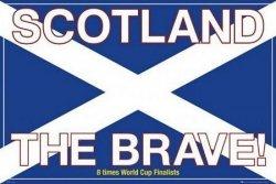 Szkocja (the brave) - plakat