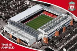 Liverpool(Anfield)  - plakat