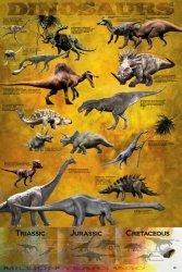 Dinosaurs (chart) - plakat